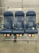 Authentic 747-400 Aircraft Row Of 3 Seats