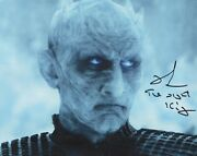 Richard Brake Photo Signed In Person - Night King In Game Of Thrones - H389