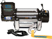 Superwinch 1510200 Lp10000 Winch 10000lbs/4536kg Single Line Pull With Roller