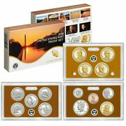 2014-s Us Mint Proof Set Gem Coins W/ Box And Coa Free Shipping