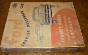 1949-1954 53 52 51 50 Ford Chassis Parts Catalog Car Parts Numbers Original Book