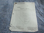 1967 Shelby American Dealer Invoice To Hayward Ford Voided Copy Invoice P13512