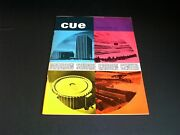 Lot Of 3 Vintage 1968 And 1971 Cue Television Guide Magazine Tv Baseball