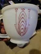 Vintage Tupperware Mix N Stor Pitcher Bowl 500-1 And Lid 697-8