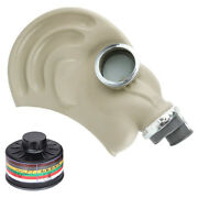 Gas Mask For Chemical / Tear Gas / Biological Protection - With Brand New Filter