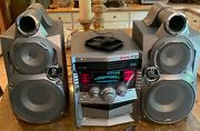 Jvc Mx-gt88 Compact Component System Bookshelf Stereo Receiver 3-disc Cd Player