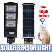 5x 90w Solar 180led Street Light Commercial Outdoor Ip67 Area Security Road Lamp