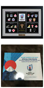 Rugby World Cup Japan Pins Frame Special Edition 2019 Sets Limited Sale New +box