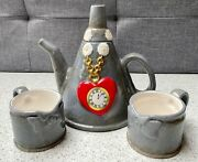 The Wizard Of Oz Miniature Tea Set With 1x Teapot And 2x Cups 3d Decoration 2000