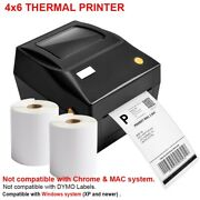 4x6 Direct Thermal Shipping Barcode Label Printer Ebay For 4x6 Shipping Labels