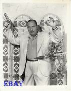 Lionel Atwill Hands Up Mad Doctor Of Market Street Photo From Original Negative