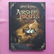 Abney Park's Airship Pirates - Core Book Rpg Roleplaying Steampunk Cubicle Seven