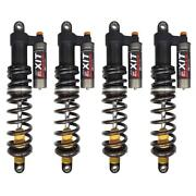 Zbroz Exit Shocks X2 Series Front And Rear Suspension Kit Textron Wildcat Sport