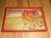 Vintage 1930s-40s Wwii Era Rose Bush Dexterity Skill Childs Game Toy
