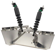Nauticus St1290-60 Boat Smart Tab Trim Tabs 12 X 9 For 12-18' Boats W 60-150 Hp