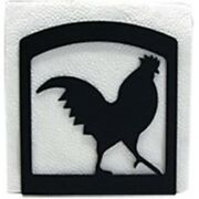 Village Wrought Iron Rooster - Napkin Holder
