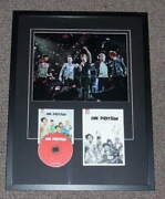 One Direction Group Signed Framed 19x25 Yearbook And Cd Display Jsa Harry Styles