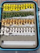 48 Ultimate Foam Ant Fly Trout Flies W/box - Trout Bluegill Crappie Panfish