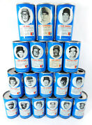 Lot Of 18 1977 Rc Cola Baseball Royal Crown Soda Cans 5 With Tabs