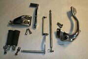 Dyna Mid Foot Controls + Brake Pedal + Shifter + Pegs Harley Fxd Fxdl Eps23603