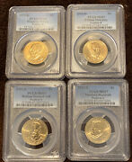 2013 D Us Presidential Dollars Yearly Set Pcgs Ms You Get 4 Coins