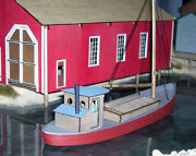 48' Commercial Fishing Boat O On3 On30 Waterline Hull Ship Wood Laser Kit Df603