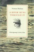 River Runs Through It, Hardcover By Maclean, Norman Moser, Barry, Brand New,...