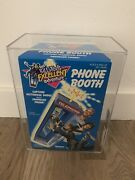 1991 Bil And Tedandrsquos Excellent Adventure Phone Booth Sealed Graded Afa 85 Kenner