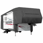 Waterproof Cover 5th Wheel Travel Trailer Rv Motorhome Camper - Length 29and039 - 33and039