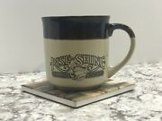 Vintage Hardees Rise And Shine Homemade Biscuits Coffee Cup Mug 1984