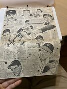 Baseball Scrapbook With A Lot Of Boston Red Sox Related Images And Babe Ruth