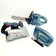 Bosch Power Tool Toys Set 3 Tested Toy Saw Set