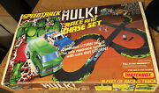 Matchbox Speedtrack The Hulk Race And Chase Set / Real Pics / Wrongway052