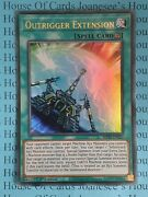 Outrigger Extension Mp20-en217 Ultra Rare Yu-gi-oh Card 1st Edition New