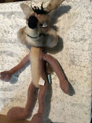 Vintage1971 Warner Bros Wb Mighty Star 26andrdquo Wile E Coyote Wired Poseable Plush