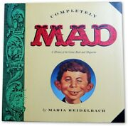 Mad Magazine Signed Autographed Hardcover Book Meglin Gaines Brenner Jsa Ii59859
