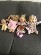 Rare Cabbage Patch Dolls - Signed By Xavier Roberts