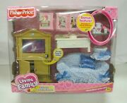 New Fisher Price Loving Dollhouse Deluxe Family Room Sweet Sounds Tray 2003