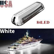 White 84 Led Underwater Boat Marine Transom Light Super Bright Stainless Pontoon