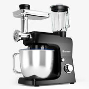 Costway 3 In 1 Multi-functional 800w Stand Mixer Meat Grinder Blender Sausage