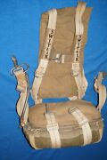 Rare Civilian 1946 Switlik C.a.a.t.c 151 Safety Seat Parachute Harness Post Wwii