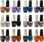 Opi Base/top Polish Gelcolor+nail Lacquer Duo X 0.5oz - Muse Of Milan Collection