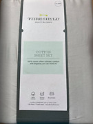 Threshold Cotton Sheet Set Creamy Chai Beige Xl Twin