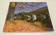 Golden Guild 1000 Piece Puzzle Brant Lake Ny Sealed