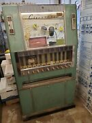 Vintage National Cigarette Mechanical Vending Machine 1950and039s 1960and039s Marlboro