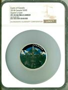 2018 Canada S30 2 Oz. Gates Of Canada Queen's Gate Ngc Pf70 Ultra Cameo