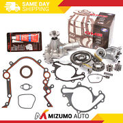 Timing Chain Kit Water Oil Pump Cover Gasket Fit 96-04 Ford Mustang Mercury 3.8