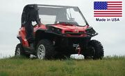 Can Am Commander Mini Enclosure - Hard Windshield Roof And Rear Window