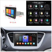 1din 8in Adjustable Touch Screen Car Stereo Radio Bluetooth Player 16g Gps Wifi