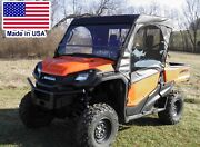 Full Enclosure For Honda Pioneer - Hard Windshield Doors Canopy And Rear Window